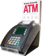 Cashless ATM with Standard Counter-top Kiosk